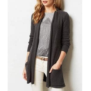 Angel of the North Matinee Cardigan Gray